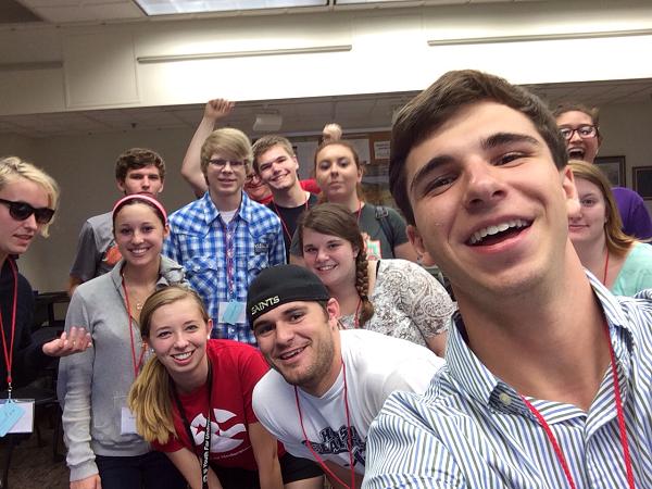 Obligatory Team Pink Selfie