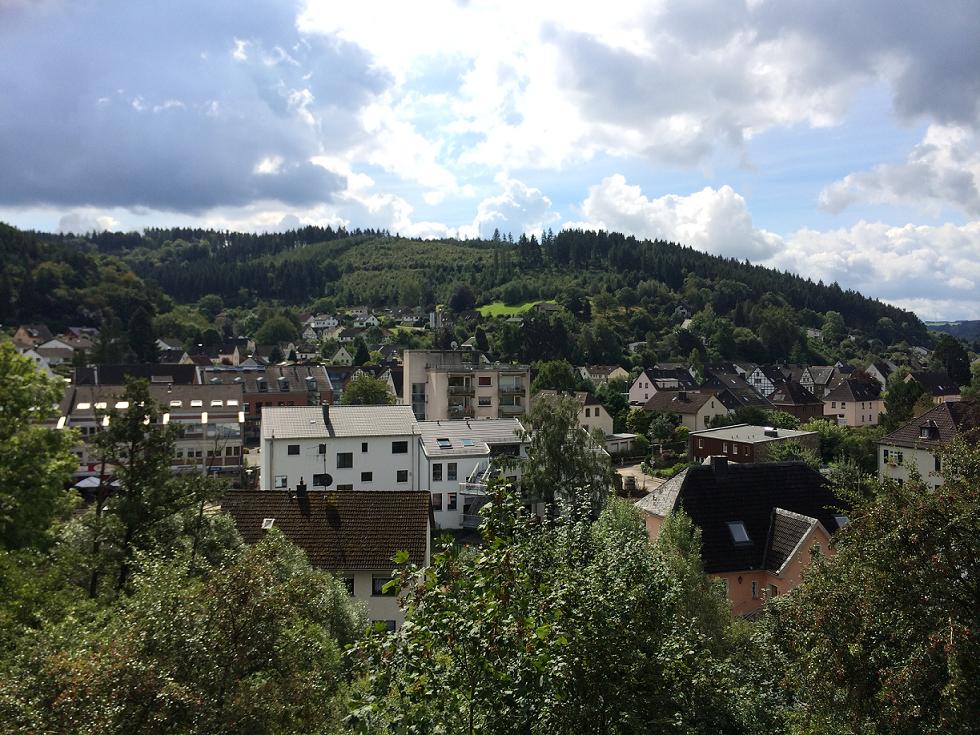 View from Schloss Schleiden
